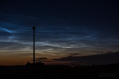Leuchtende Nachtwolken - NLC - vom 13/14.06.19 über Braunschweig 1