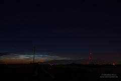 Leuchtende Nachtwolken - NLC - vom 13/14.06.19 über Braunschweig 2