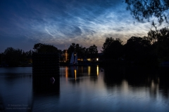 Leuchtende Nachtwolken - NLC - vom 21/22.06.19 über Braunschweig 1
