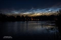 Leuchtende Nachtwolken - NLC - vom 21/22.06.19 über Braunschweig 3