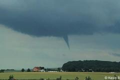 Tornado F0 über Lk Wolfenbüttel 16.06.19 - Beobachtet aus BS - Rüningen 2