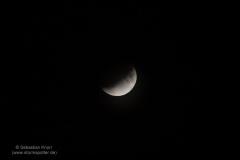 Partielle Mondfinsternis 16.07.19 - Bei BS Rüningen 1