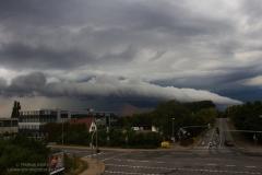 Gewitter vom 02.08.19 mit Shelfcloud bei WOB - Fallersleben 2
