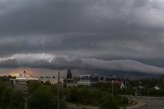 Gewitter vom 02.08.19 mit Shelfcloud bei WOB - Fallersleben 3