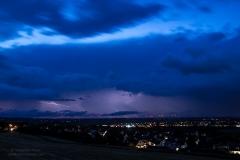 Gewitterlinie vom 08.06.19 - Blick nach Westen von Salzgitter Lichtenberg 2