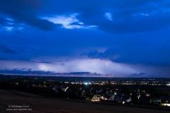 Gewitterlinie vom 08.06.19 - Blick nach Westen von Salzgitter Lichtenberg 3