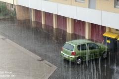 Heranziehendes Gewitter bei BS-Rüningen 28.07.18 - 14:45 Uhr  2