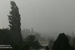 Heranziehendes Gewitter bei BS-Rüningen 28.07.18 - 14:45 Uhr  4
