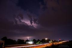 Nachtgewitter vom 29.05.18 - Bei BS-Wenden an der A2