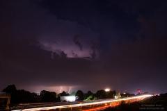 Nachtgewitter vom 29.05.18 - Bei BS-Wenden an der A2 2