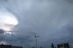 Wolkenformationen am Nachmittag des 29.05.18 bei Wolfsburg