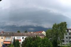 Böenfront vom Nachmittag - Daniel / BSRautheim  - 22.06.17