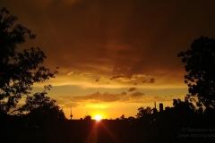 Sonnenuntergang vom 19.06.19 - BS Rüningen